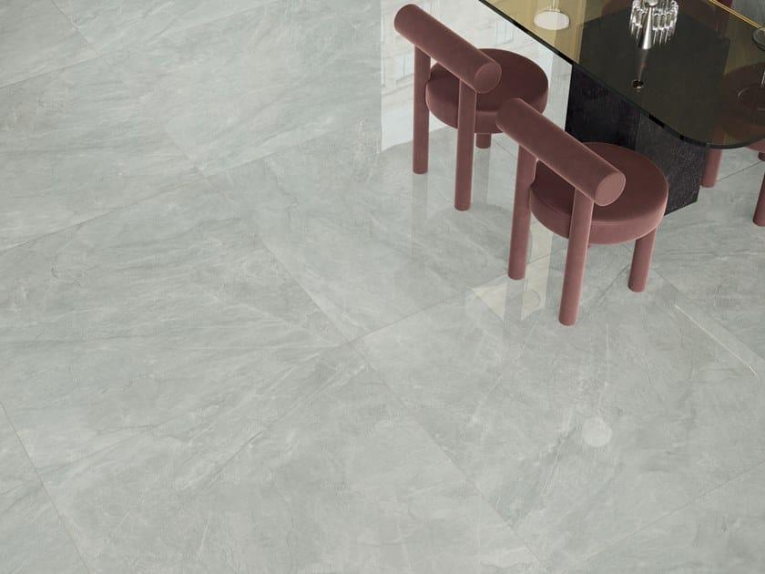 Pavimento/rivestimento in gres porcellanato effetto marmo FOYER ROYAL CHIC by Marca Corona
