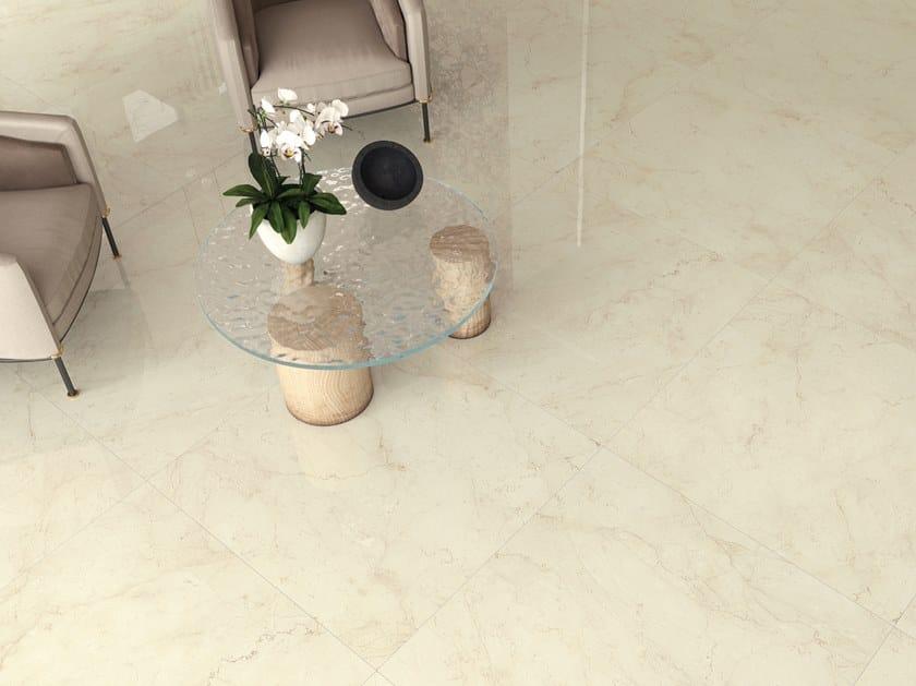 Pavimento/rivestimento in gres porcellanato effetto marmo FOYER ROYAL COZY by Marca Corona