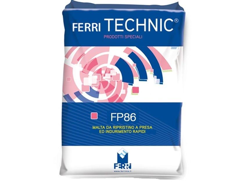 Fibre reinforced mortar FP86 RIPARA RAPIDO by Ferrimix