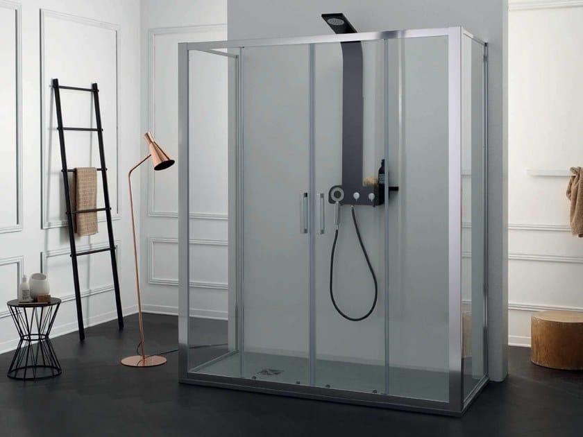 FPSC57 + FISSO | Box doccia centro stanza