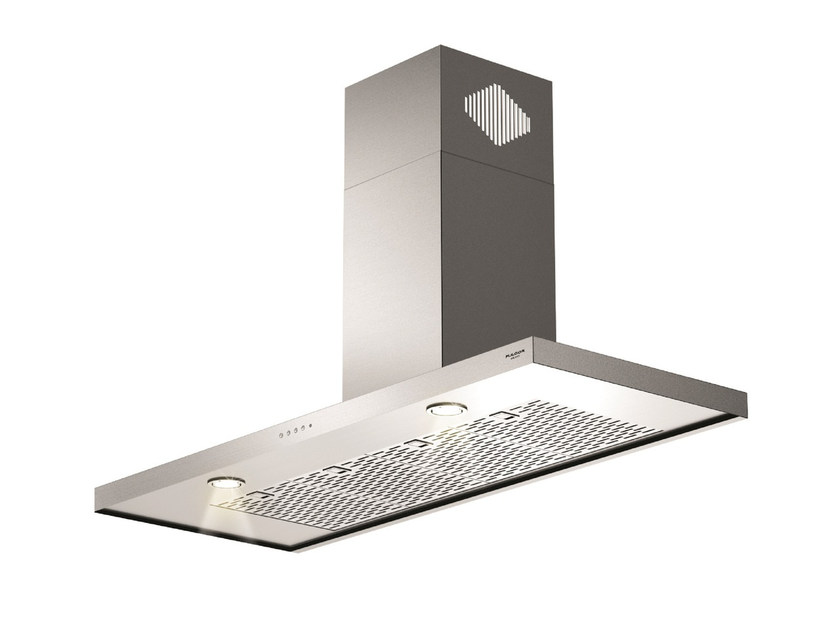 Wall-mounted stainless steel cooker hood FQH 1200 X | Wall-mounted cooker hood by Fulgor Milano