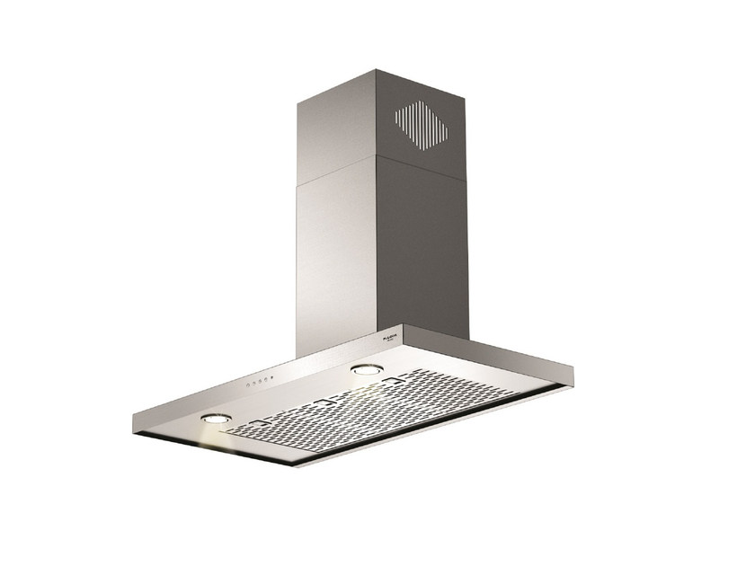 Wall-mounted stainless steel cooker hood FQH 900 X | Wall-mounted cooker hood by Fulgor Milano