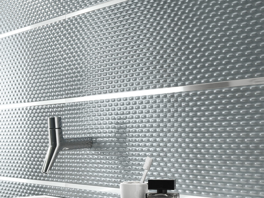 White-paste 3D Wall Tile FRAME | 3D Wall Cladding by FAP ceramiche