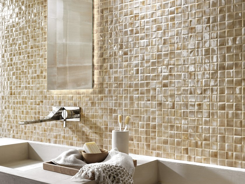 White-paste mosaic FRAME | Mosaic by FAP ceramiche