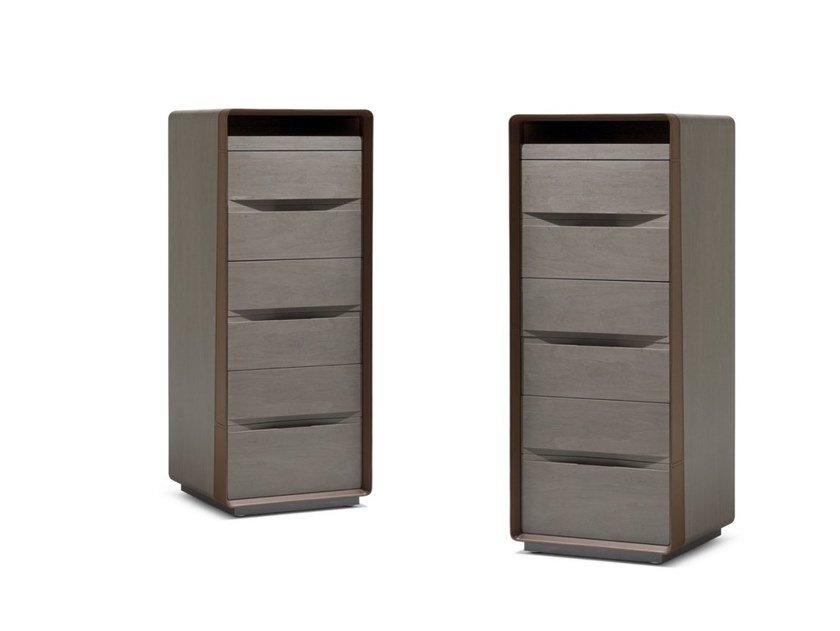 Wooden chest of drawers FRAME | Chest of drawers by GIORGETTI