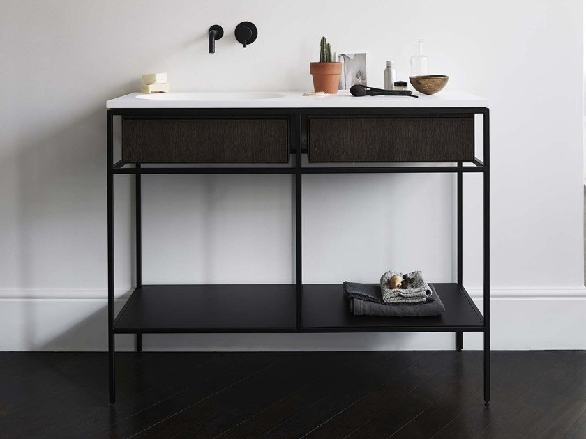 Vanity unit with drawers FRAME   Console sink by Ex.t