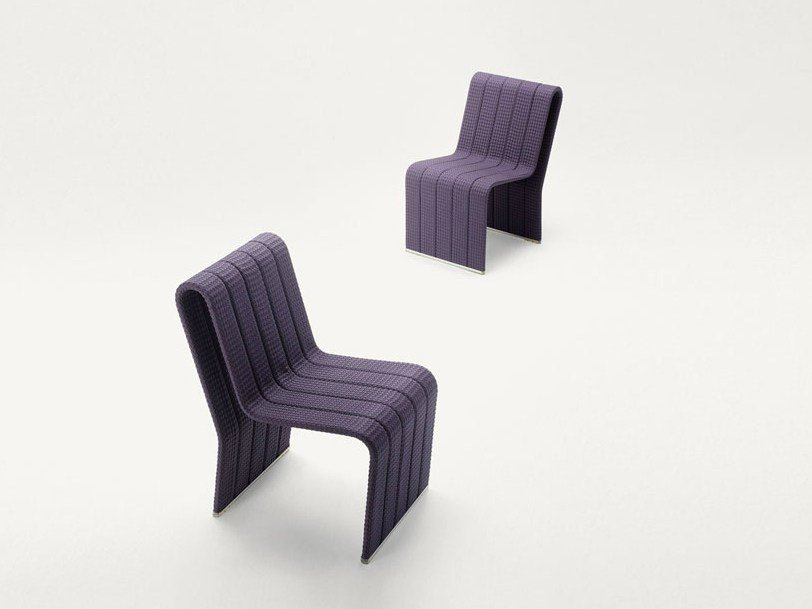 Fabric garden chair FRAME | Garden chair by paola lenti