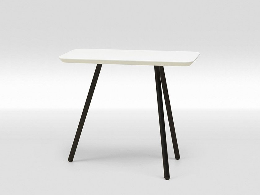 MDF coffee table / bedside table FRAME LACQUERED LARGE by Loof