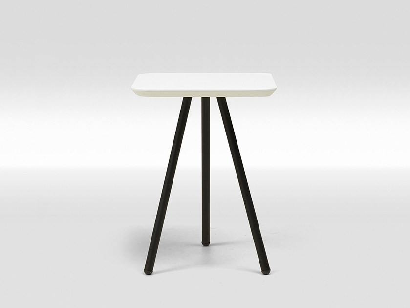 MDF coffee table / bedside table FRAME LACQUERED SMALL by Loof