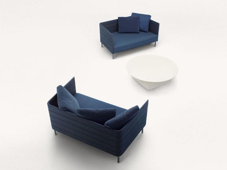 2 seater fabric sofa FRAME ON | 2 seater sofa by paola lenti