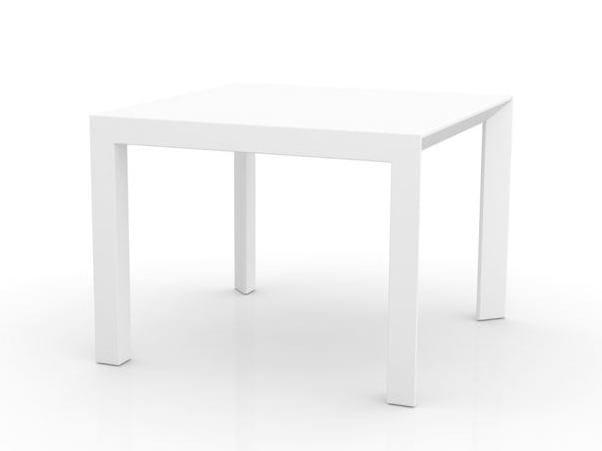 Tavolo da giardino quadrato in polietilene FRAME | Tavolo quadrato by VONDOM