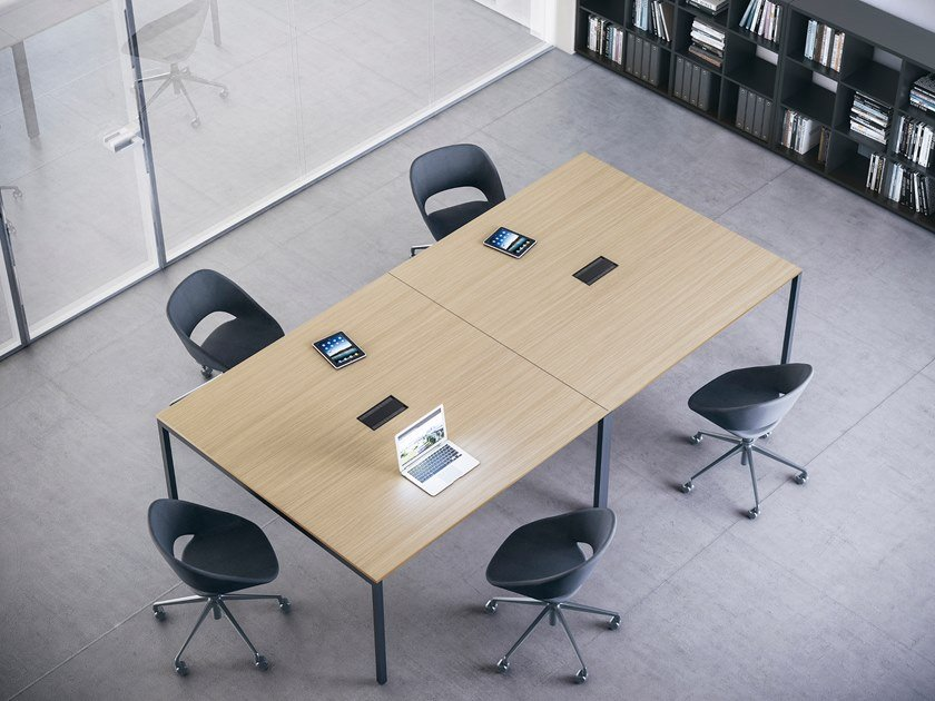 Square meeting table FRAMEWORK 2.0 | Square meeting table by FANTONI