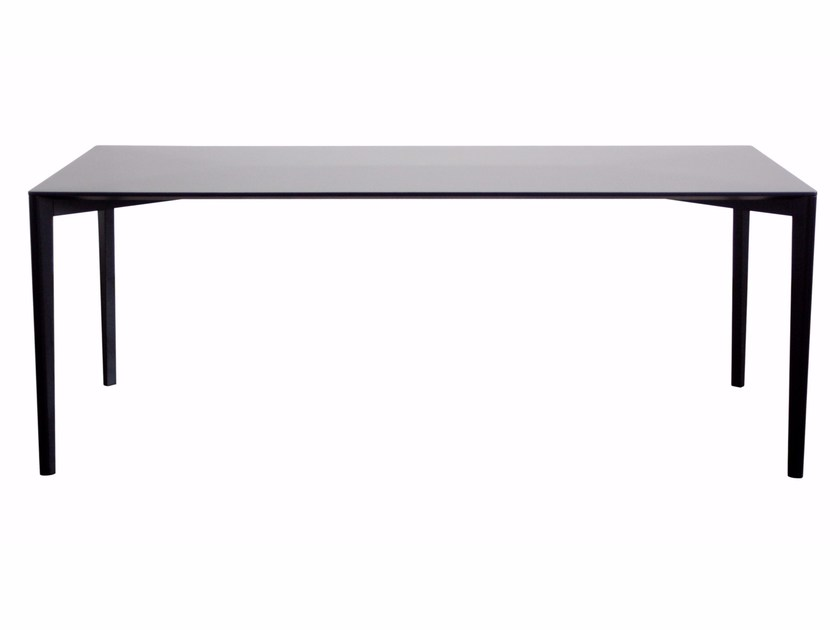 Rectangular beech table FRAMEWORK | Rectangular table by Cizeta L'Abbate