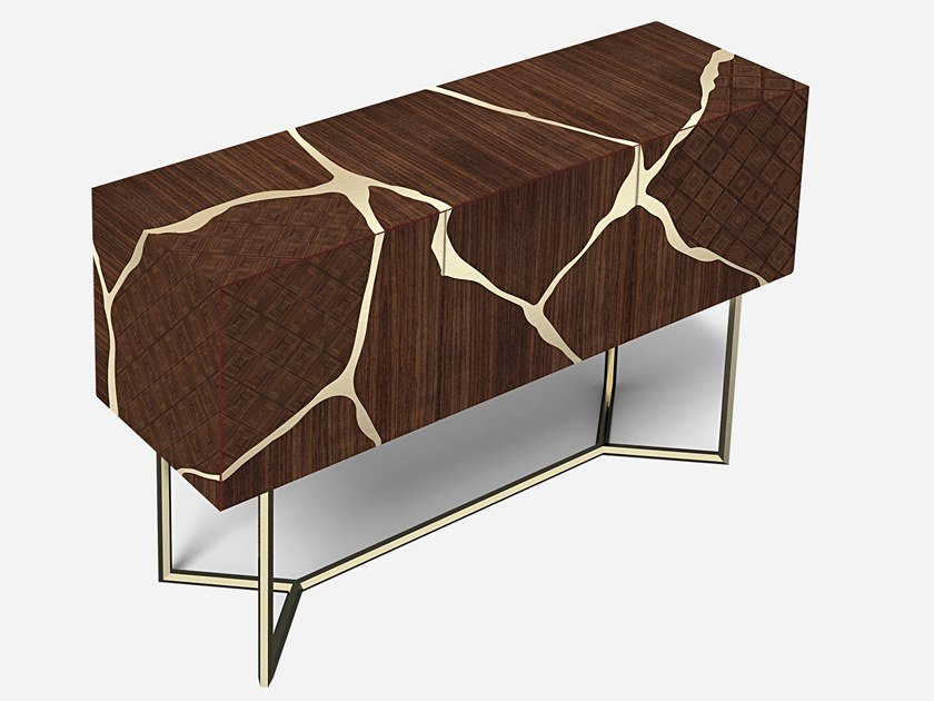 Wooden sideboard FRAMMENTI by HEBANON