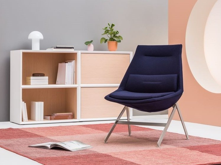 Fabric armchair FRANK | Armchair by MDD