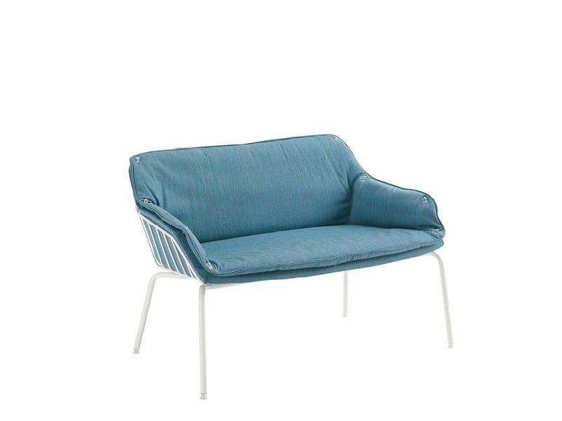 Fabric small sofa FRANK   Small sofa by Sesta