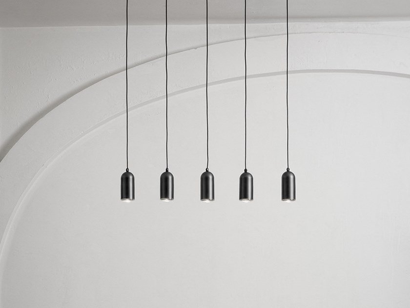 Brass pendant lamp FRASCA - SINGLE PENDANTS by Aldo Bernardi