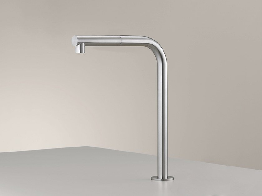 Stainless steel spout FRE 147 by Ceadesign