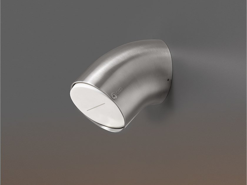 Wall-mounted adjustable overhead shower FRE 153 by Ceadesign