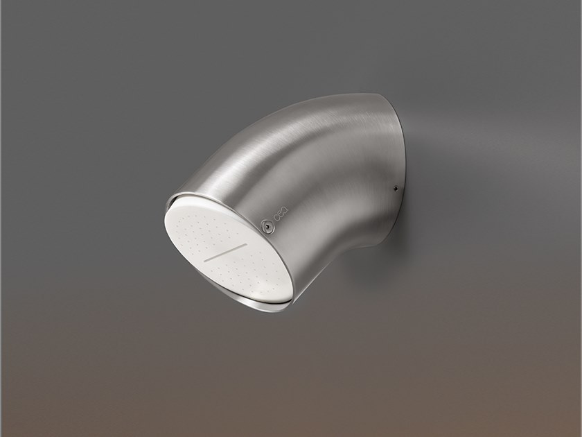 Wall-mounted adjustable overhead shower FRE 154 by Ceadesign