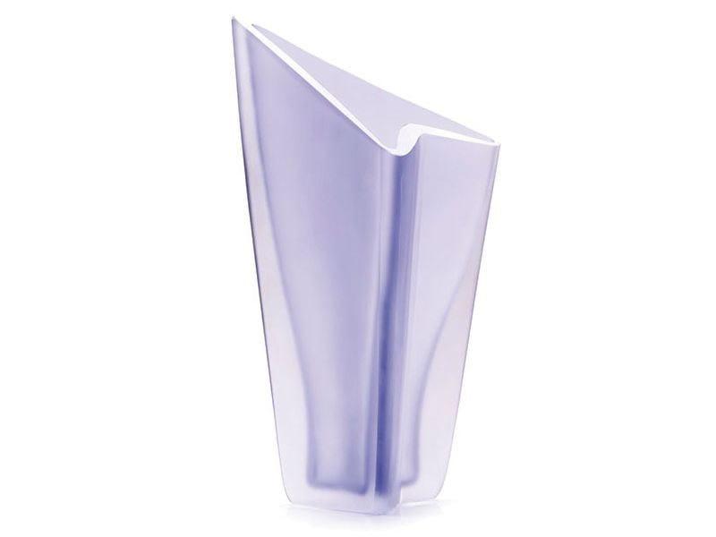 Murano Glass Vase Freccia Large By Purho Design Alessandro Mendini