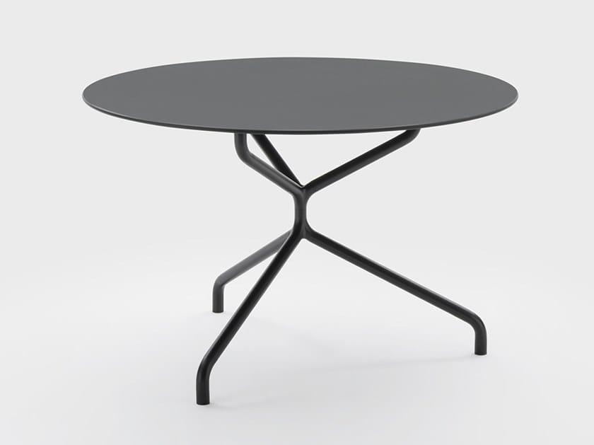 Tavolo rotondo in HPL per contract FRED | Tavolo rotondo by Viganò