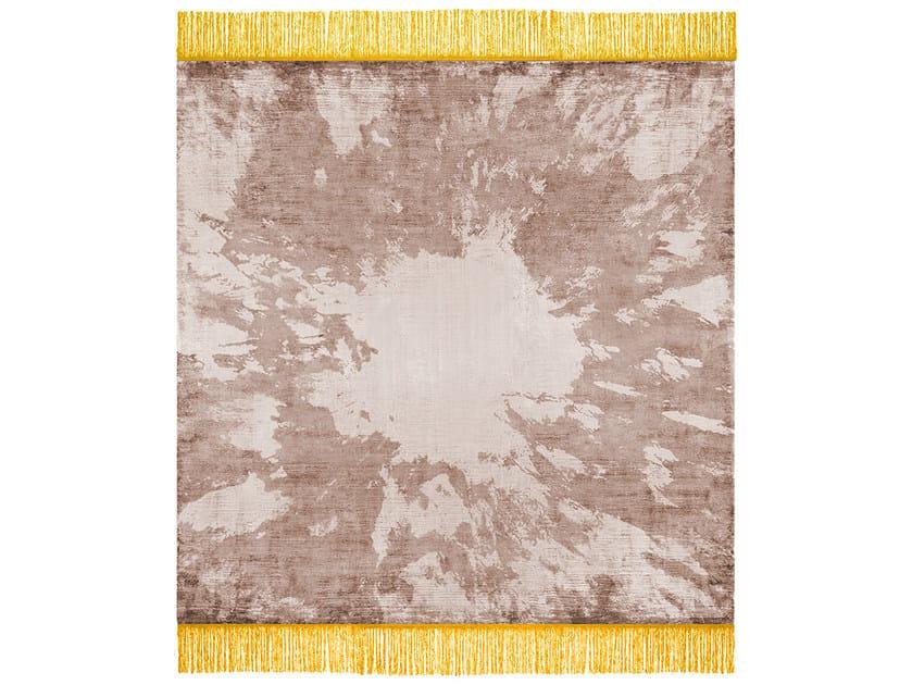 Handmade rectangular rug FREE MY MIND by HENZEL STUDIO