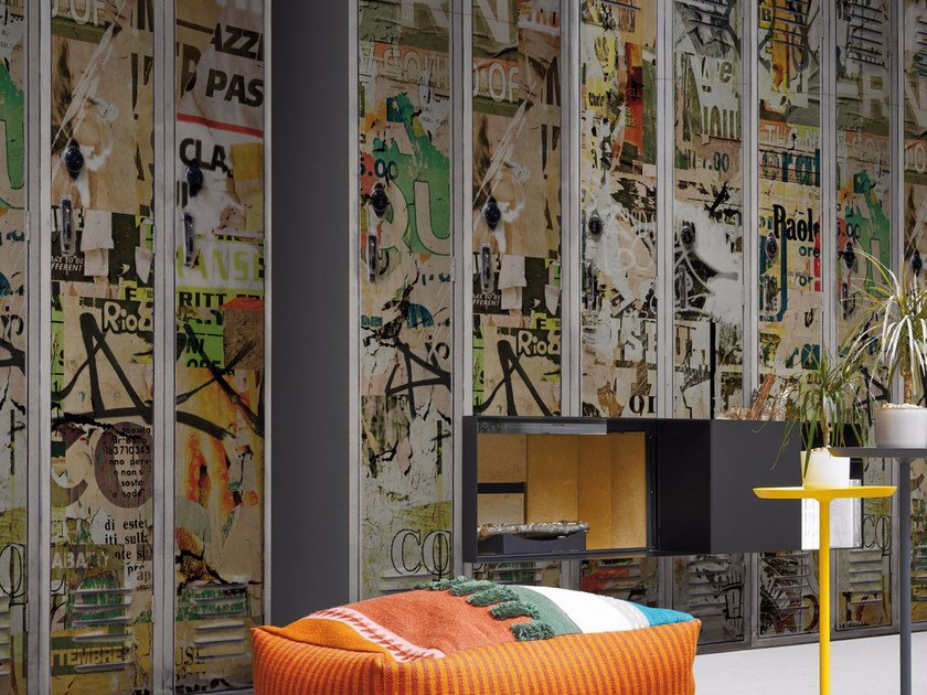 Motif panoramic wallpaper FREE TIME by Inkiostro Bianco
