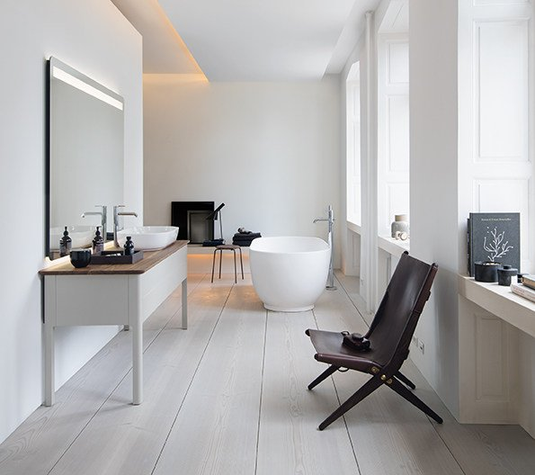 luv freistehende badewanne kollektion luv by duravit design cecilie manz. Black Bedroom Furniture Sets. Home Design Ideas