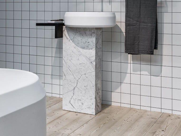 Freestanding round washbasin LARIANA | Freestanding washbasin by Agape