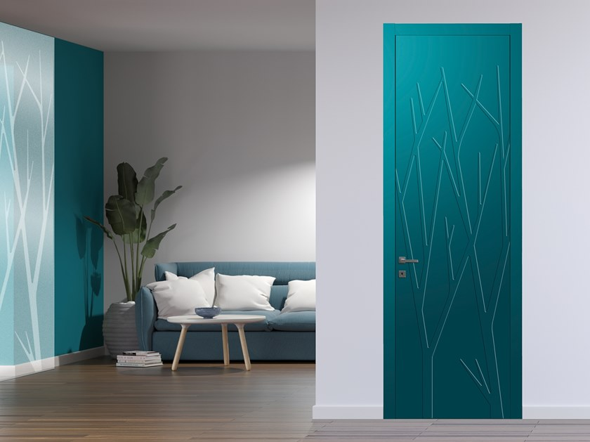 Hinged lacquered door FREESTYLE by DIERRE