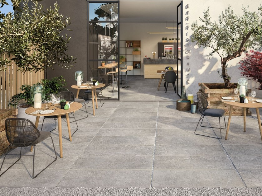 Porcelain Stoneware Outdoor Floor Tiles French Mood T20 By Supergres