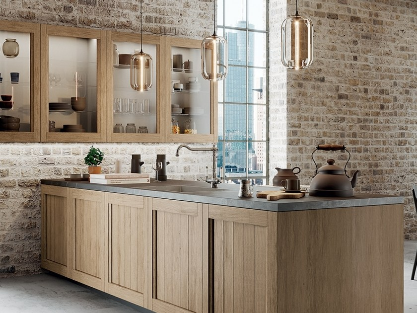 Kitchen with integrated handles FRIDA CLASSIC by ARREDO 3