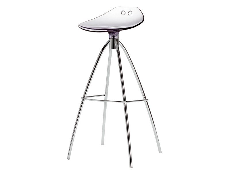 High polycarbonate stool FROG H80 by SCAB DESIGN