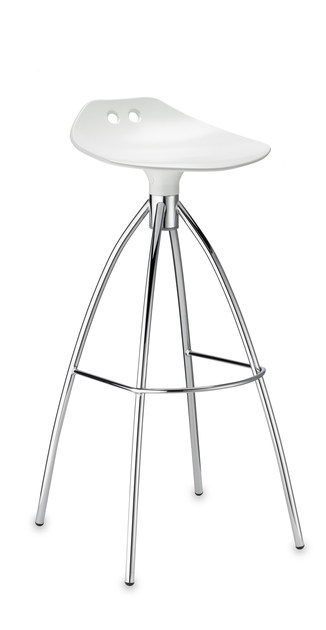 Low polycarbonate stool FROG H65 by SCAB DESIGN