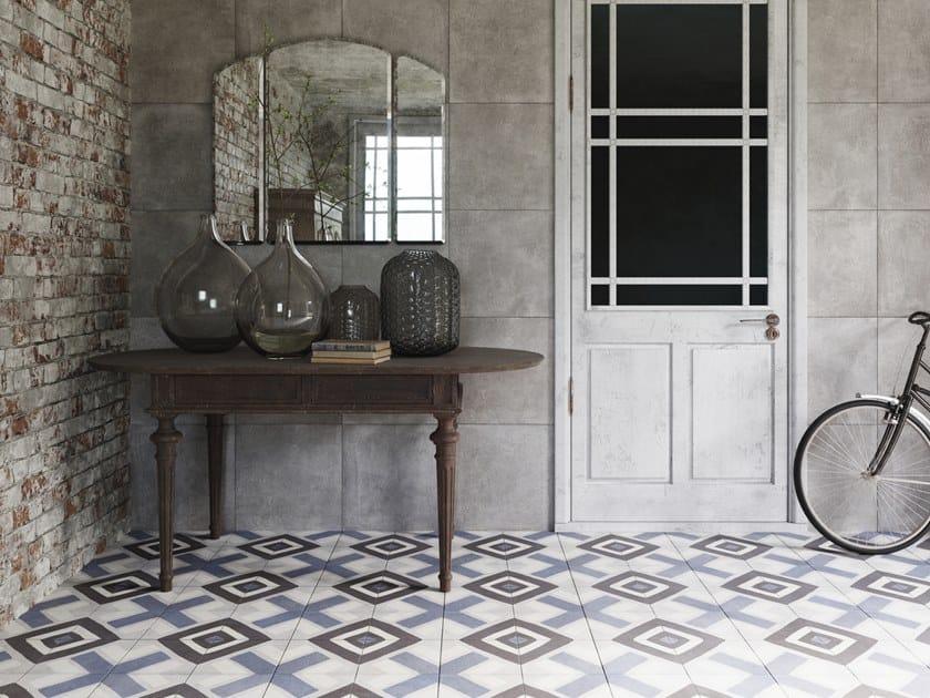 Porcelain stoneware flooring with encaustic effect FS SENA by PERONDA