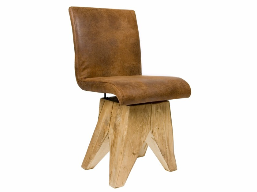 Upholstered imitation leather chair FST0040 | Chair by Gie El Home