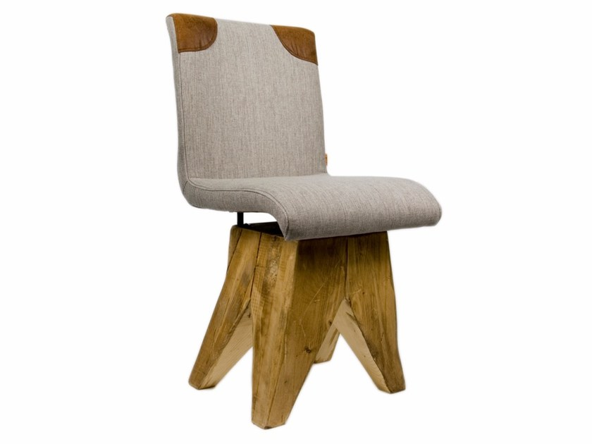 Upholstered fabric chair FST0041 | Chair by Gie El Home