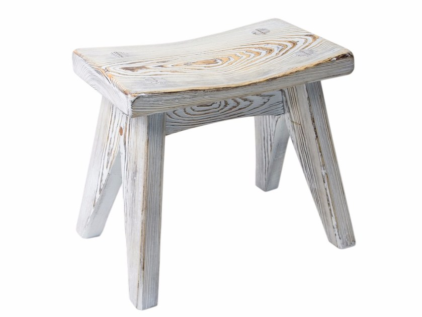 Low solid wood stool FST0091 | Stool by Gie El Home
