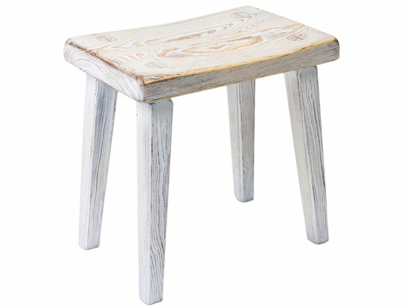 Low solid wood stool FST0092 | Stool by Gie El Home