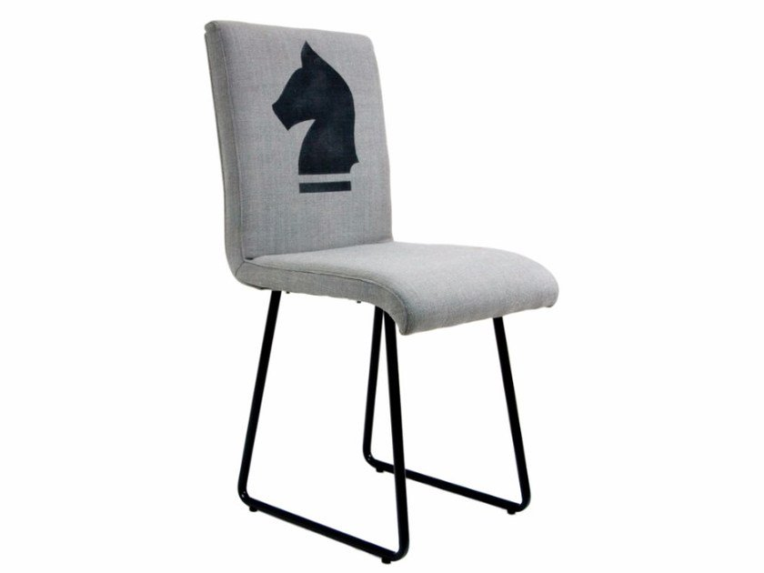 Sled base upholstered chair FST0200 | Chair by Gie El Home