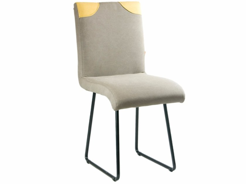 Sled base upholstered chair FST0210 - 0213 | Chair by Gie El Home