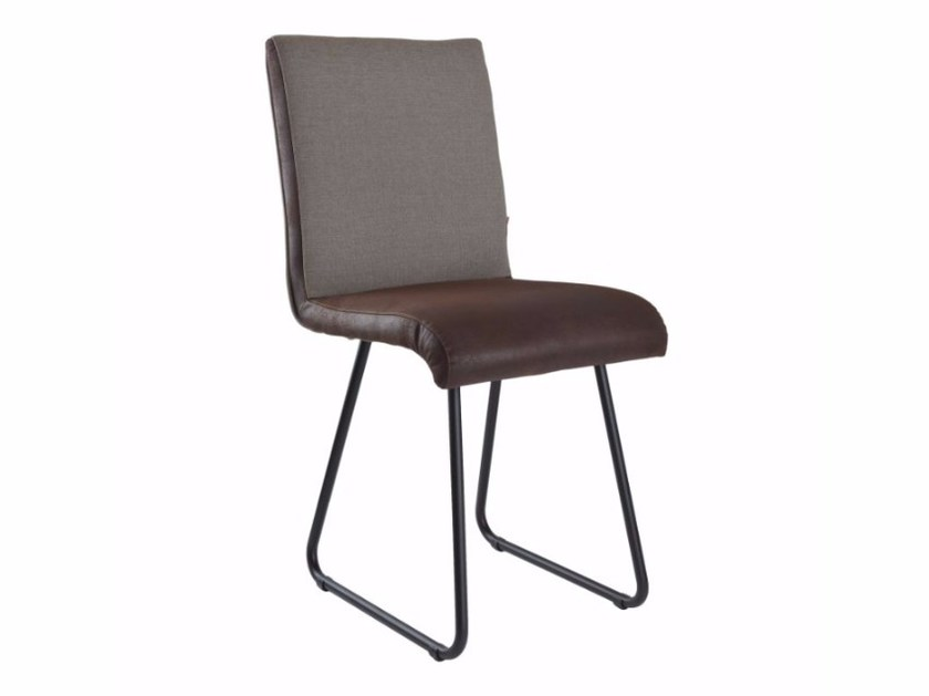 Sled base upholstered chair FST0221 - 0222 | Chair by Gie El Home