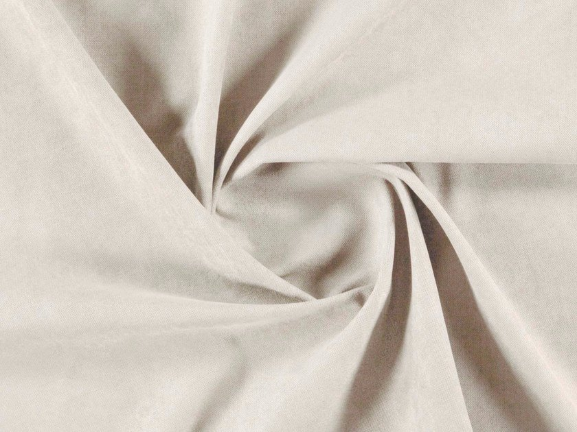 Solid-color washable suede fabric upholstery fabric FUIJI by More Fabrics