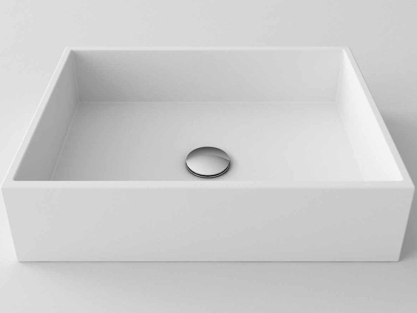 Countertop oval Stonelight washbasin FULL by Flora Style