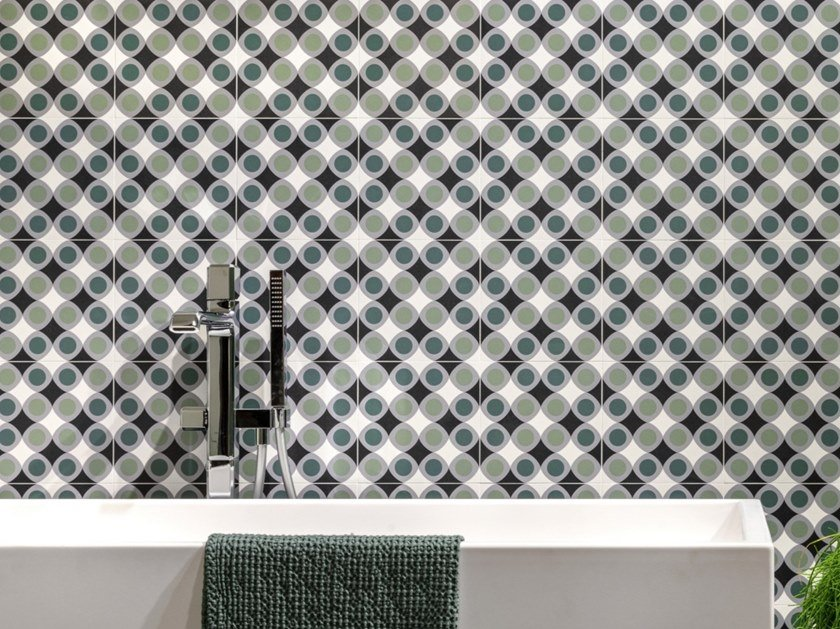 Porcelain stoneware wall/floor tiles with encaustic effect FUN JOY 01 by CERAMICA SANT'AGOSTINO