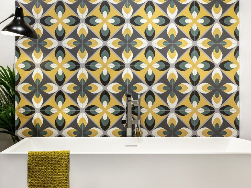 Porcelain stoneware wall/floor tiles with encaustic effect FUN PLAY 01 by CERAMICA SANT'AGOSTINO