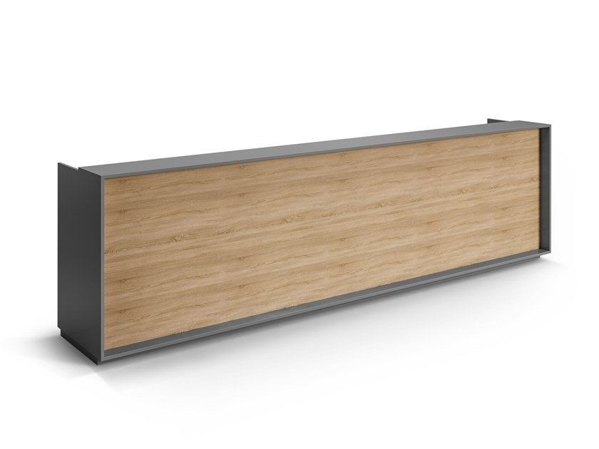 Melamine Office reception desk FUNCTIONAL by GES Group