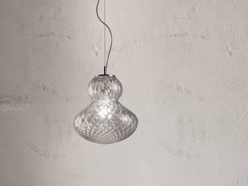 Murano glass pendant lamp FUNGO LS 624 by Siru