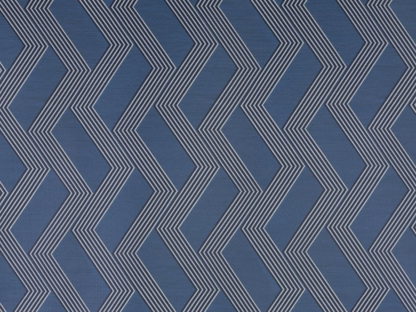 Embossed fire retardant upholstery fabric FUNKY STRIPES SN by Dedar